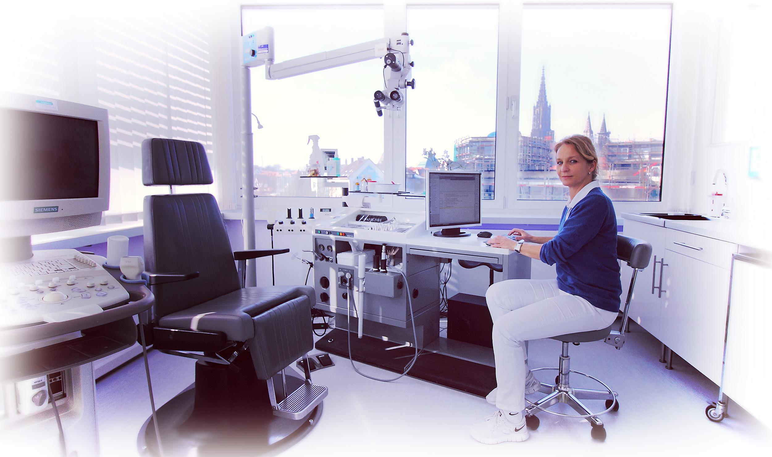 Ausblick auf Ulm aus HNO Praxis Neu-Ulm